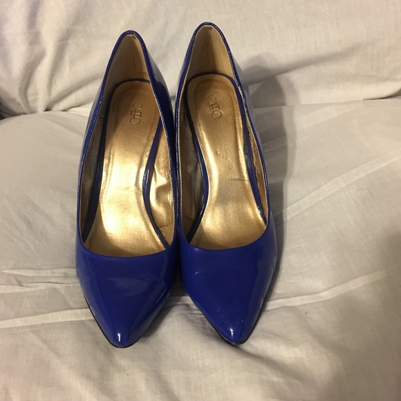 Cato Shoes - Blue Heels